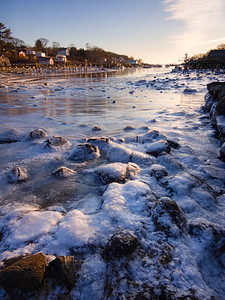 Winter Morning, New Harbor, Bristol, Maine (81391-81395)