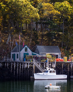 A Fine Fall Day in New Harbor, Maine  (150619)