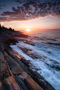 Sunrise, Pemaquid Point, Bristol, Maine (3154)