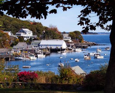 Autumn Scene, New Harbor, Maine  (150528)