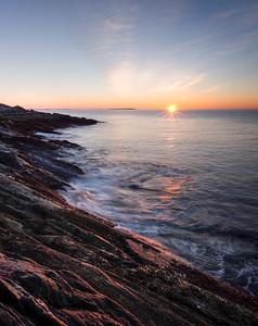 Daybreak, Pemaquid Peninsula, New Harbor, Maine (81368-81369)