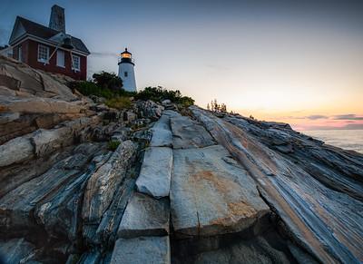 Pemaquid Lighthouse Pre-dawn, Bristol, Maine (3121)