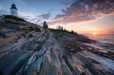 Sunrise, Pemaquid Lighthouse, Bristol, Maine (3148)