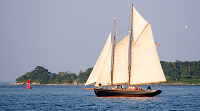 Schooner Cruise, Casco Bay, South Portland, Maine  -86696