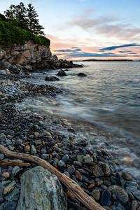 Casco Bay Sunset, Cape Elizabeth, Maine  (212050-212054)