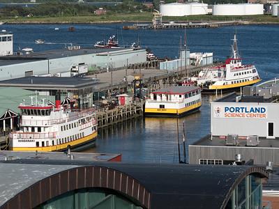 Island Ferries, Portland, Maine  (21192)