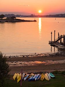 Sunset, Portland, Maine (07817)