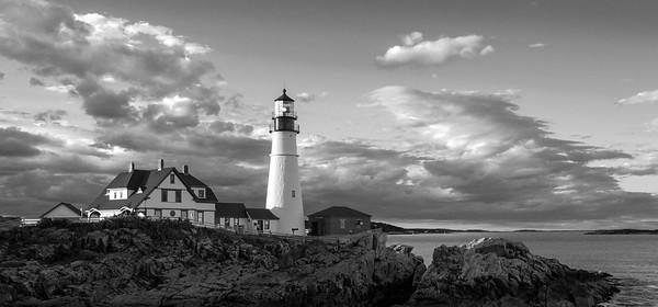 Late Afternoon Clouds, Portland Head Light, Cape Elizabeth, Maine (98461)