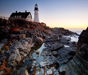 Daybreak, Portland Head Light (3897)