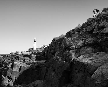 The Climber, Portland Head, Cape Elizabeth, Maine  (30100)
