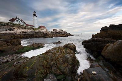 Portland Head Light, Cape Elizabeth, Maine (7022-7023)