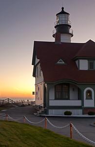 Pre-Dawn, Portland Head Light, Cape Elizabeth, Maine (3869)