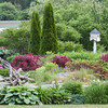 A Maine, coastal garden, Phippsburg, June