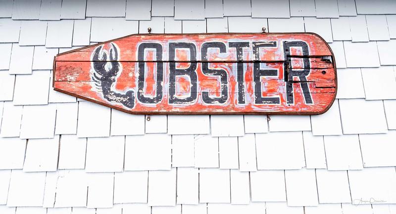 Lobster Sign