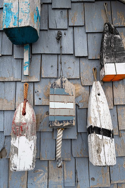 Distressed Lobster Bouys