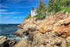 Bass Harbor Head Light (colored pencil)