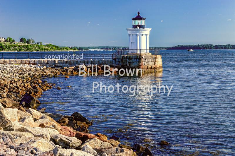 """Portland Breakwater """"Bug"""" Light"""