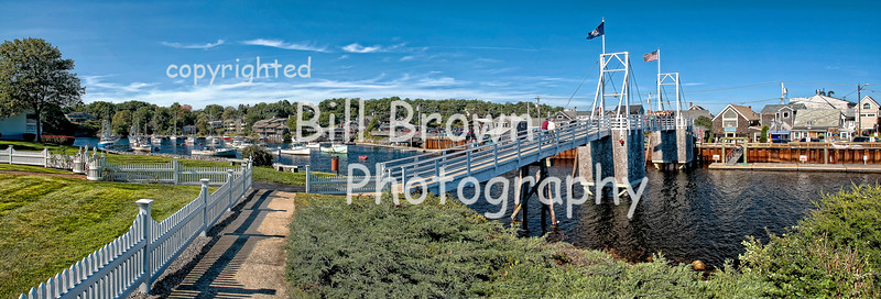 Perkins Cove, Ogunquit Pano