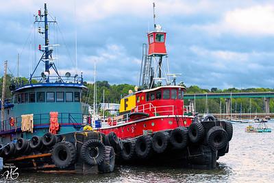 Two Tugs in Belfast