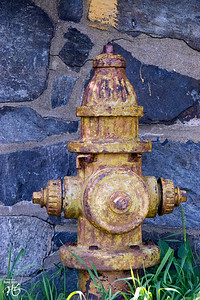 Fireplug at Portland Head Light