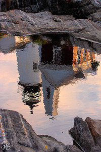 Pemaquid Lighthouse Reflection