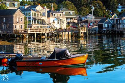 Calm & Stir in Stonington Harbor