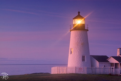 Pemaquid Light at Early Morn