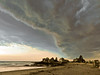 Storm over Kennebunk Beaches