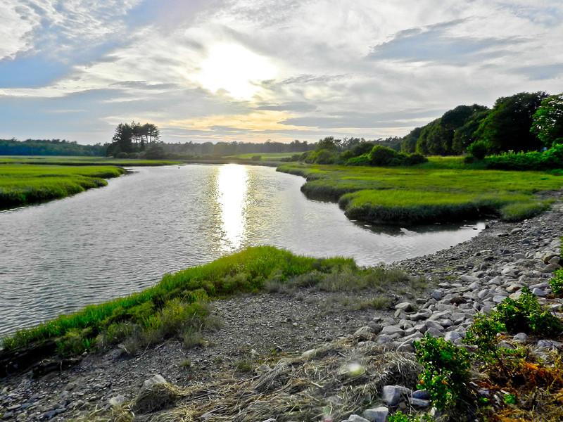 Back Creek and Mousam River, Kennebunk ME