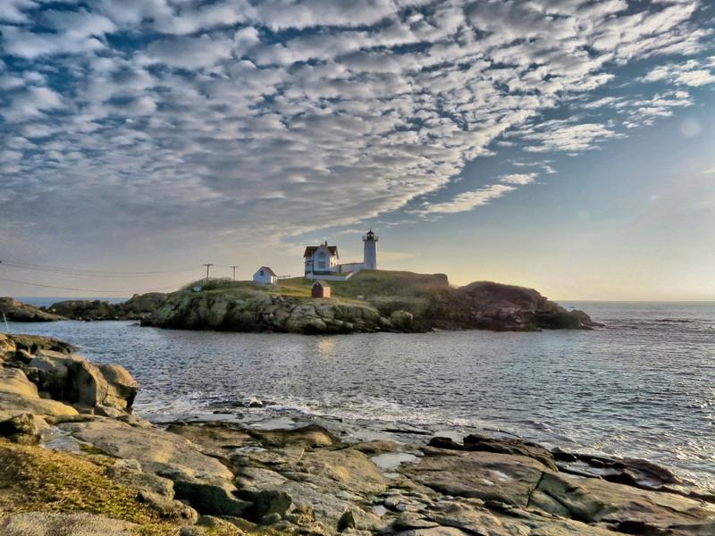 Nubble Light, Cape Neddick ME, HDRI