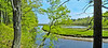 Merriland River Pano, Rachel Carson NWR, Wells ME