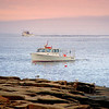 """Lady Lexy"", a Winter Harbor boat, fishing off of Schoodic Point - Acadia National Park."