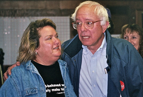 04.09.19 Socialist US Senator Bernie Sanders of Vermont at the Solidarity Center in Brewer