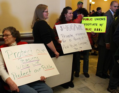 11.03.03 Maine AFL-CIO Lobby Day at State House