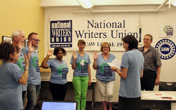 18.08.10-12 National Writers Union Delegate Assembly in New York City