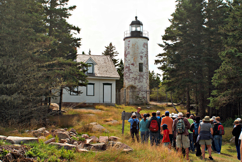 *A National Park Ranger who is a descendant of the Gilley's gives a tour of the island*