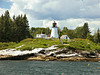 In June 2003 the 'Burnt Island Living Lighthouse' program opened to the public.  Ferries are provided from Boothbay Harbor to Burnt Island where actors play the part of the keeper and his family to educate the public on the life of a lighthouse keeper.