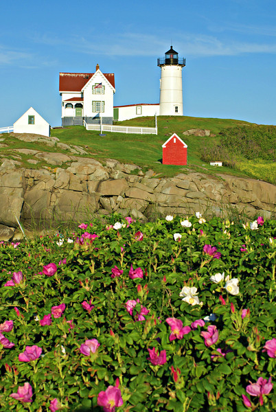 There are many stories of former Keepers at the Nubble who would make extra money by ferrying tourists over to the light for a visit.  This led to several reprimands from the Lighthouse Service brass.