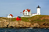 The Town of York has continued to maintain the Nubble with repairs being made to the boathouse, the installation of a dock and repainting of the tower & keepers house.