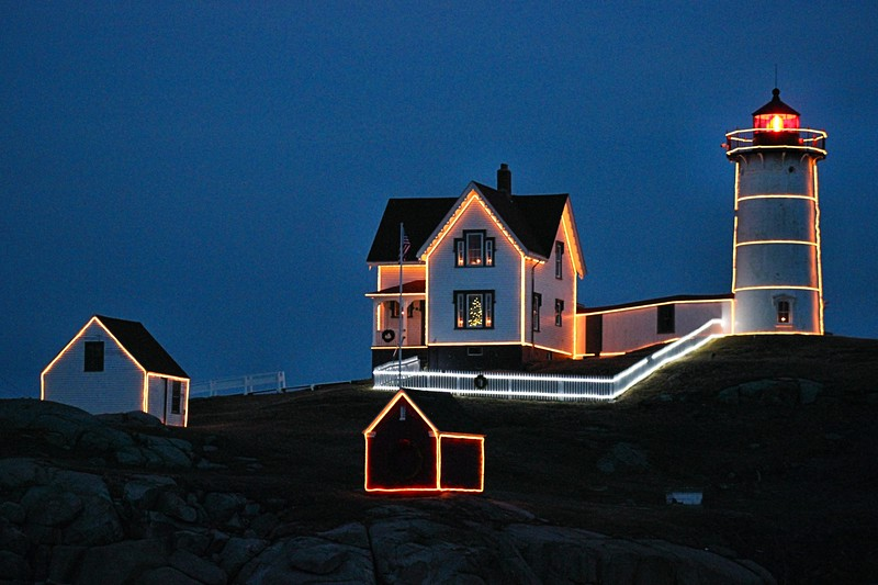 There are several events held annually at Sohier Park including the popular Christmas lightings held in November and July.  The Nubble remains an icon of American lighthouse history!
