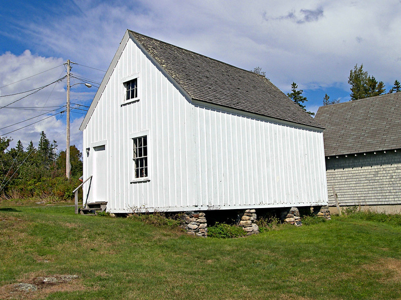 In 1888 a new barn was built at the Light House Station.  The barn is in use today as a garage.