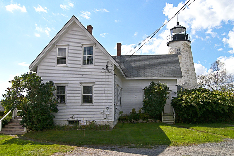 After the War of 1812 things settled down and the settlement grew and prospered.  Lumber from the interior was harvested and floated to saw mills down the Penobscot River.  Shipbuilding yards sprung up in Castine and nearby towns with easy access to the lumber.