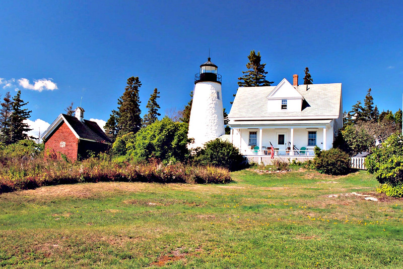 In response to this growing trade Congress appropriated $5,000 in May 1828 to to build a lighthouse to guide shipping into the Penobscot River.