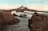 Old postcard view of Egg Rock Light Station