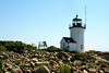 Eventually in 1990 automation came and personnel were removed.  Goat Island was the last US lighthouse to be destaffed, leaving Boston Light as the only manned lighthouse station (by Congressional decree) in the US.