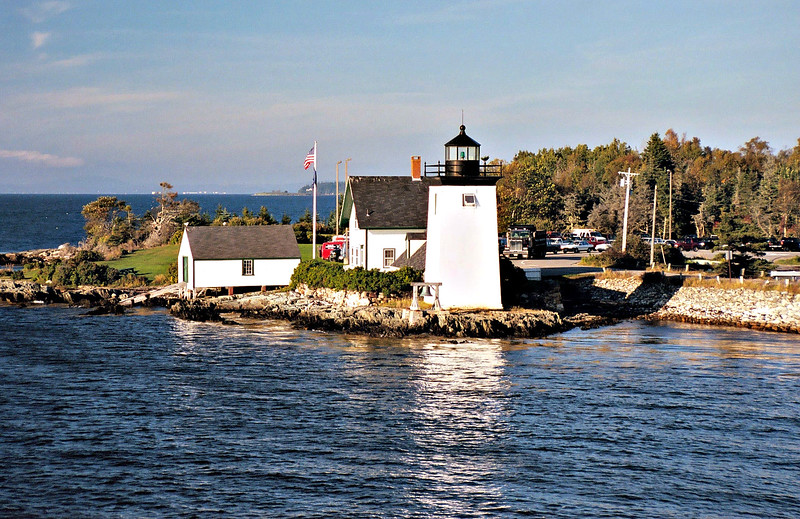 In 1934 as a cost saving measure the light was moved to a nearby automatic light and the Grindle Point Light Station was closed.  The Fresnel lens was removed from the lantern.
