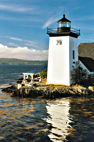 Rufus Dunning served as the first Keeper of the Grindle Point Light.  He was succeeded a few years later by Francis Grindle, the former owner of Grindle Point.