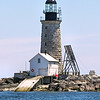Nor'easters and storms caused damage throughout the year s at Halfway Rock.  In 1962 a storm washed away a porch and the helicopter landing pad.  In 1972 a storm destroyed the generator leaving the keepers without power and damaged the Fresnel lens.  This led to the decision to automate the lighthouse in 1975.