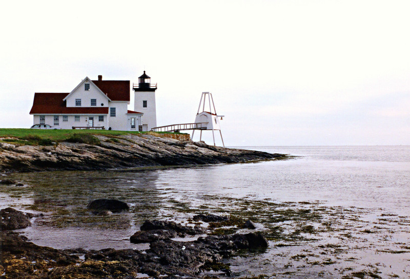 Wolcott had previously served at Cape Elizabeth and the Cuckolds Light Stations.  Wolcott served at Hendricks Head until his death in 1930.  He has the distinction of being born, being married and dying at the Hendricks Head Light Station.