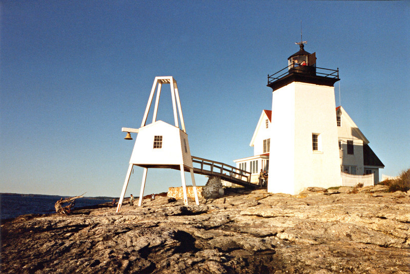 On December 1, 1829 Keeper John Upham lit the 10 oil lamps and exhibited the fixed white light of the Hendricks Head Light for the first time.